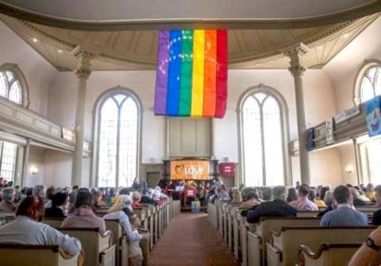 Image result for LGBTQ church